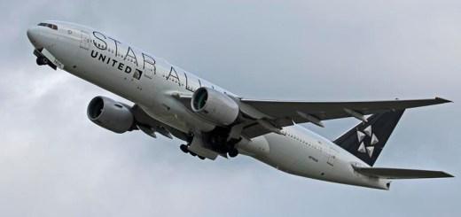 Un Boeing 777-200ER de United Airlines
