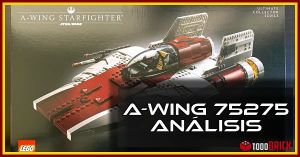 LEGO 75275 A Wing Ultimate Collector Series UCS Analisis