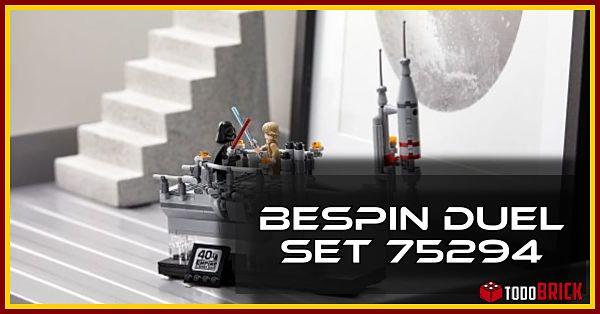 Nuevo set 75294 Bespin Duel de LEGO Star Wars