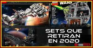 Sets LEGO Star Wars que retiran en 2020