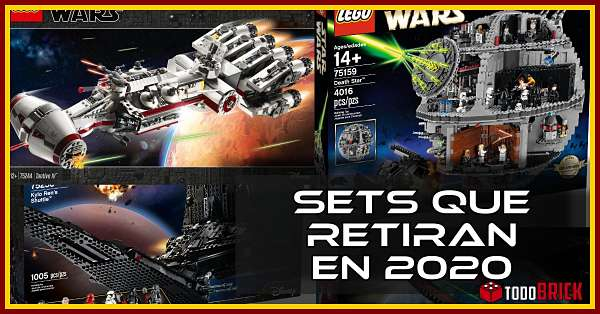 Sets LEGO Star Wars que retiran en 2020