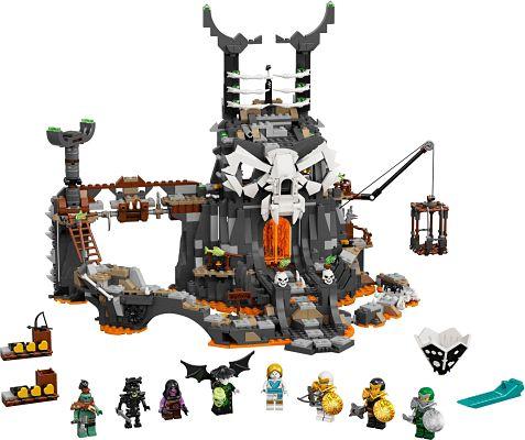 71722 Mazmorras del brujo de los muertos de LEGO Halloween