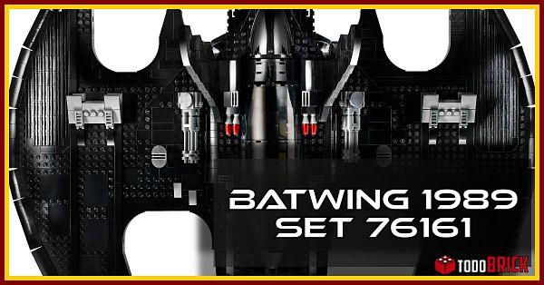 Comprar LEGO Batwing 1989 set 76161