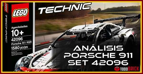 Set LEGO 42096 Porsche 911 RSR