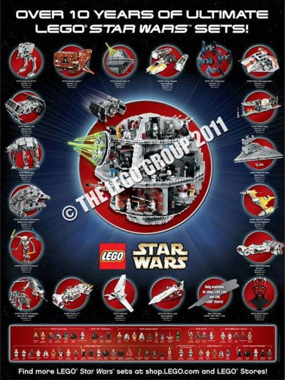 Poster LEGO UCS de 2011