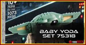 Super oferta LEGO baby yoda 75318