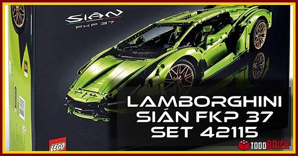 LEGO Lamborghini Sian FKP 37 set 42115