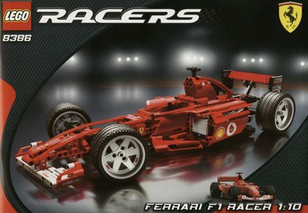 LEGO Ferrari Racers 8386 F1 escala 1 10