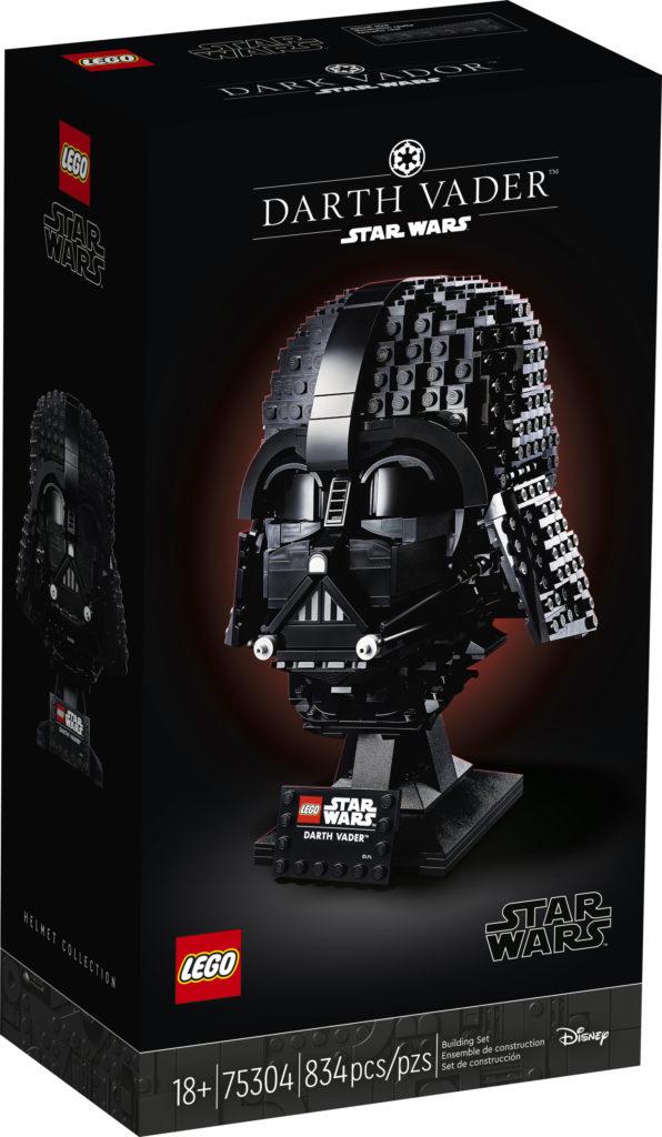 LEGO Star Wars 75304 Darth Vader Casco caja