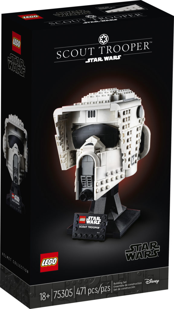 LEGO Star Wars 75305 Scout Trooper Helmet caja