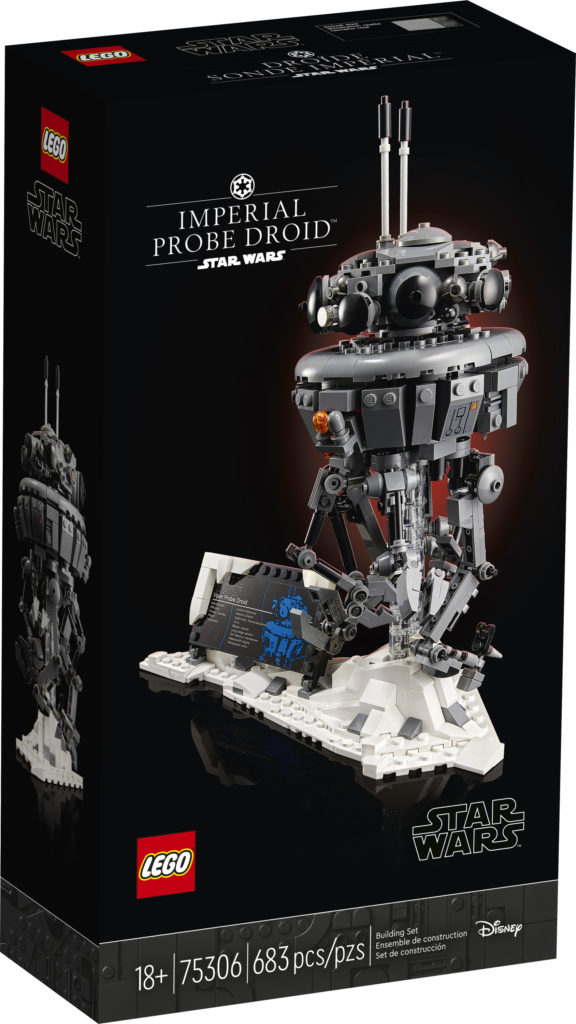 LEGO Star Wars 75306 Imperial Probe Droid caja