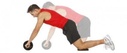 Cómo usar la rueda abdominal