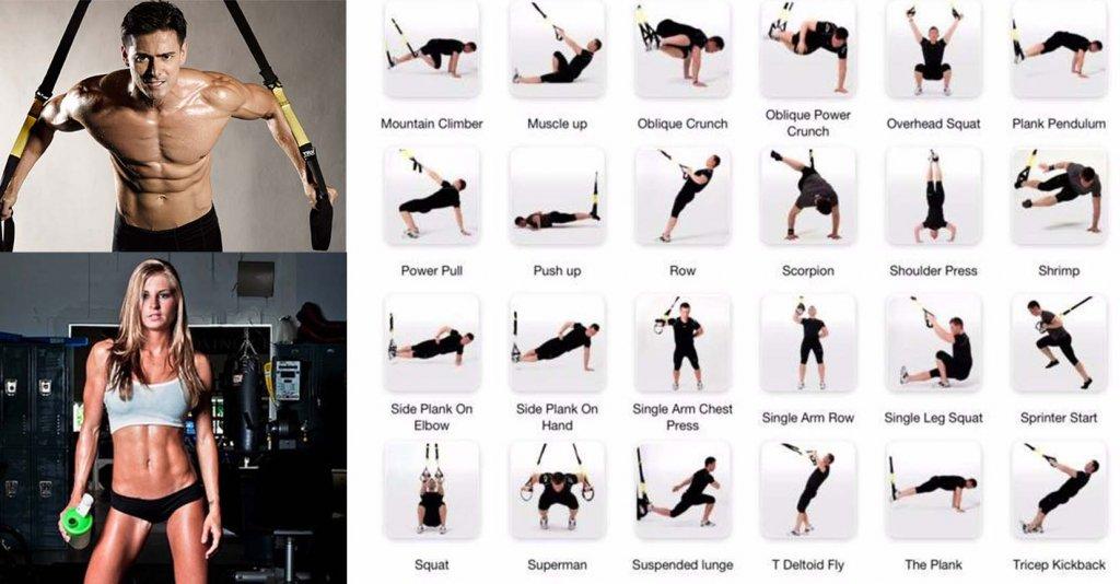ejercicios trx perder peso