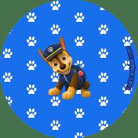 Paw Patrol Candy Bar para Descargar e Imprimir Gratis