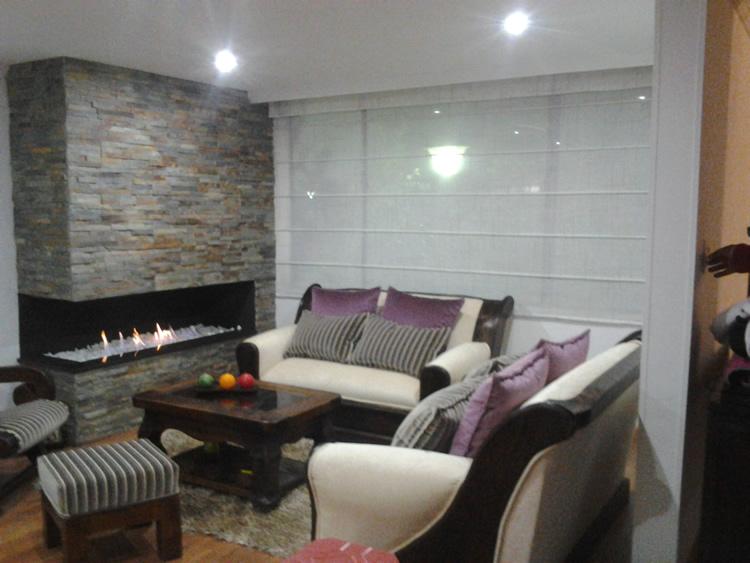 Barrio Cedritos Bogot Colombia CJ DECORACIONES Diseo interior Cortinas Clasicas Panel Japones Sheer elegance Persianas en madera Romana
