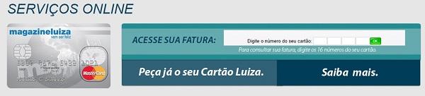 Como Solicitar 2 via Fatura LuizaCred Fatura Online