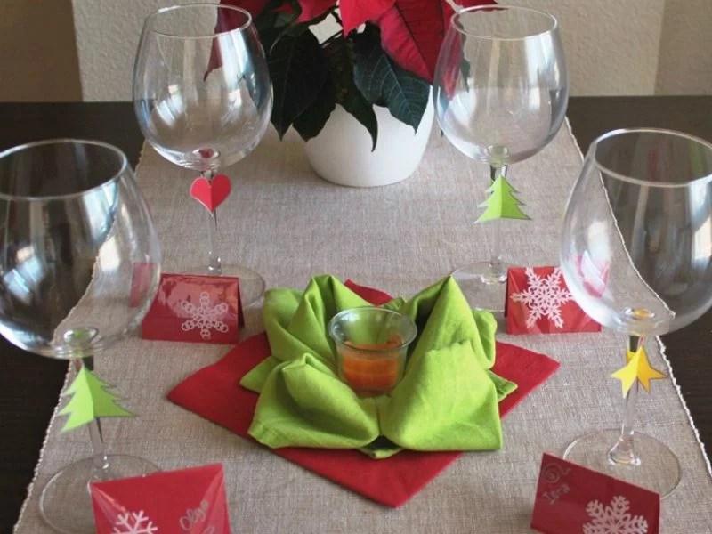 Men especial de Navidad y algunas ideas para decorar la mesa