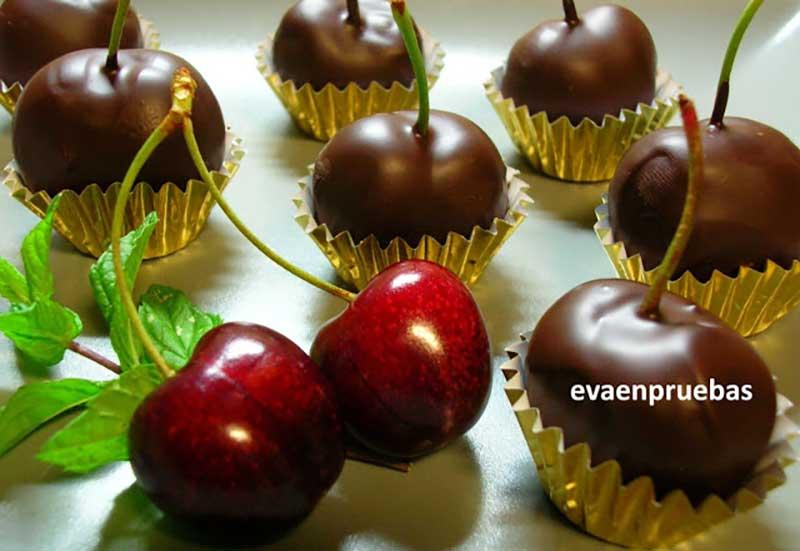 ##cerezas-chocolate