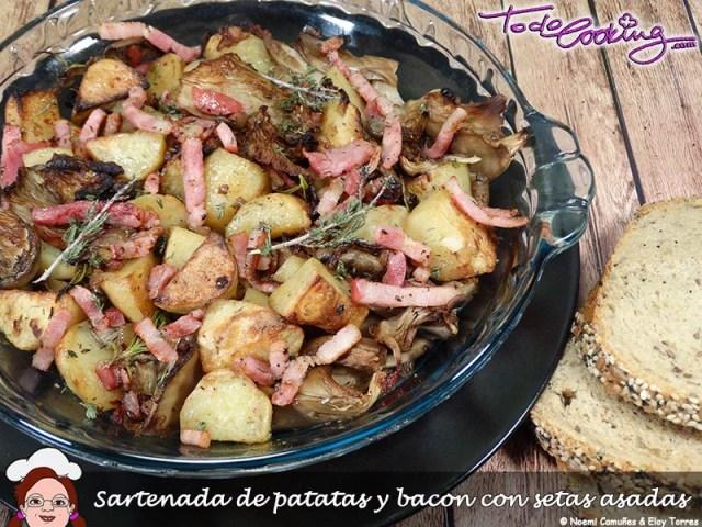 SartenadaPatatasBaconSetas2