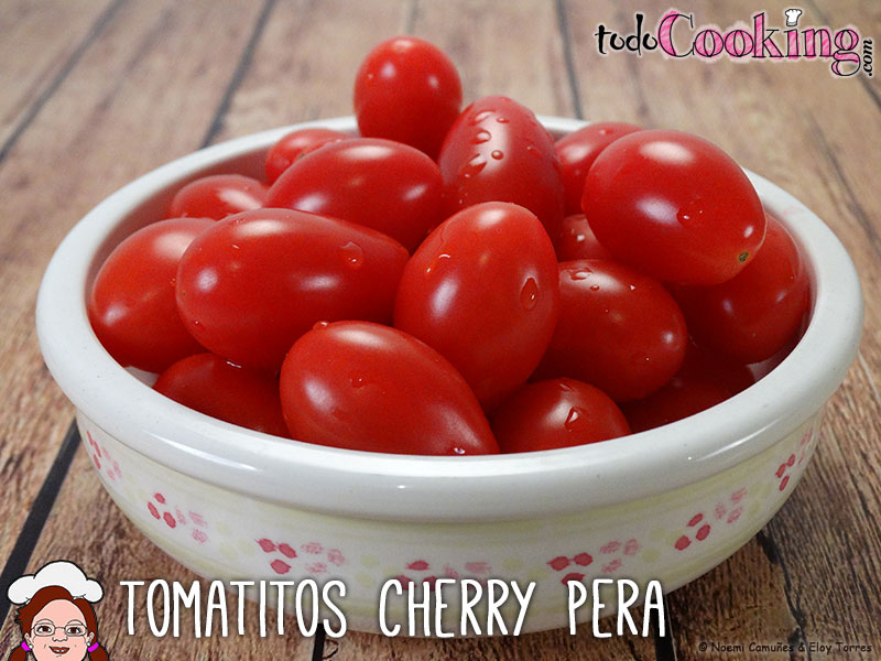 Tomatitos cherry pera