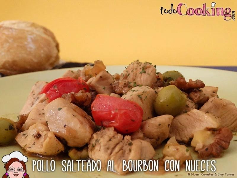 pollo-salteado-al-bourbon-con-nueces