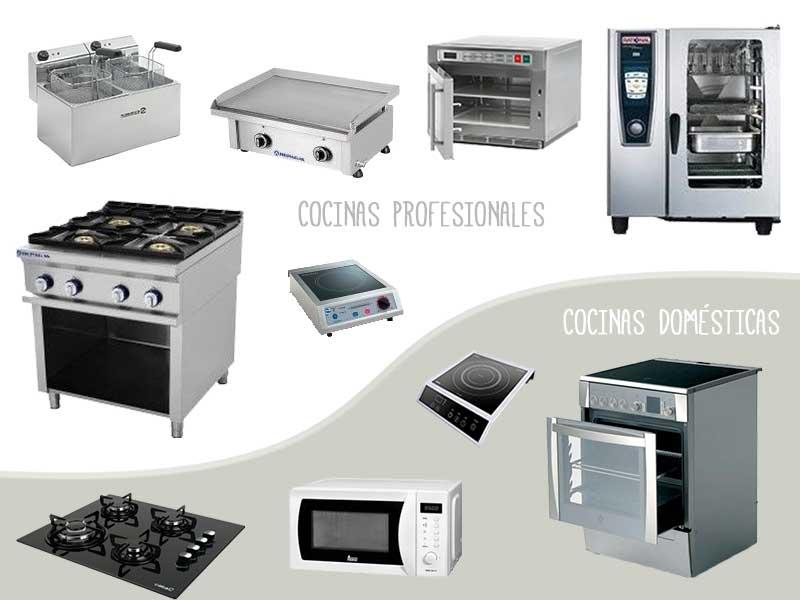 En que se diferencia la cocina de tu casa de una cocina