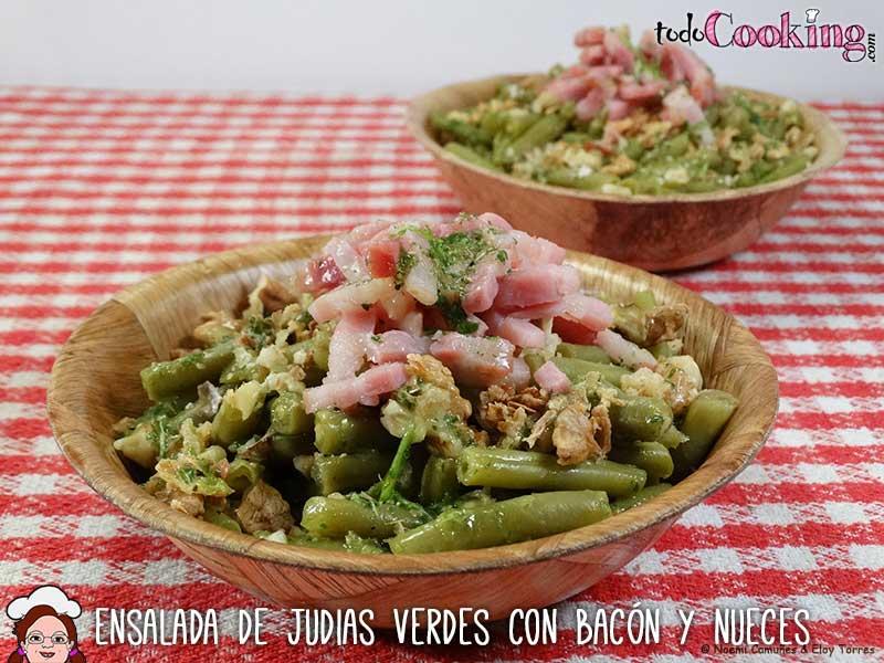Ensalada-judias-verdes-bacon-nueces-04