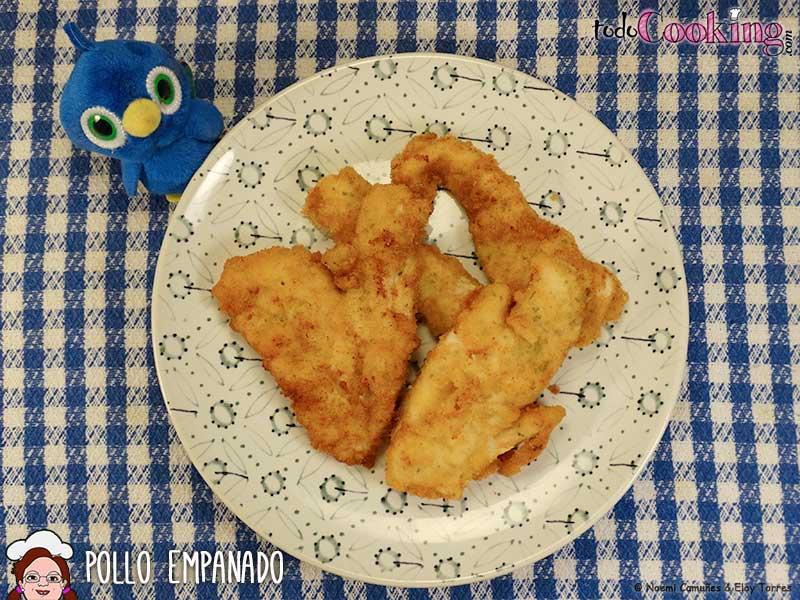 Pollo empanado