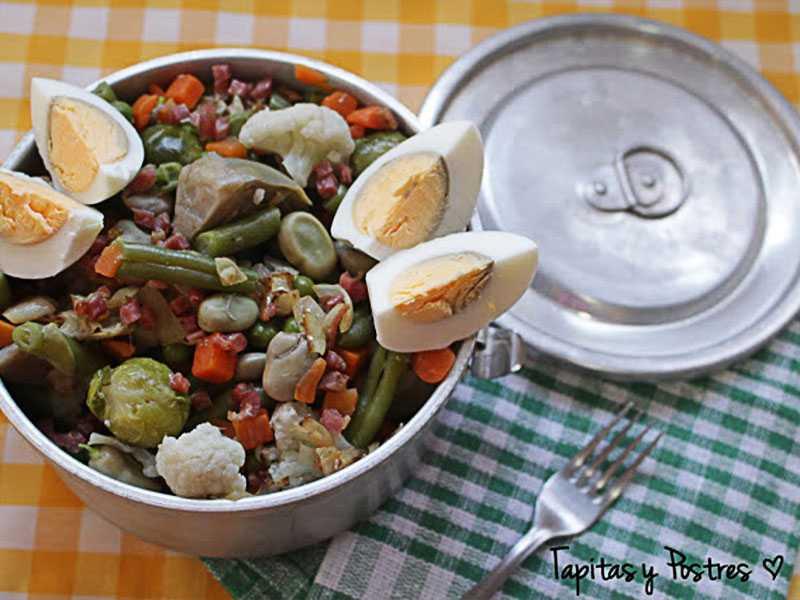 menestra-de-verduras verduras y hortalizas