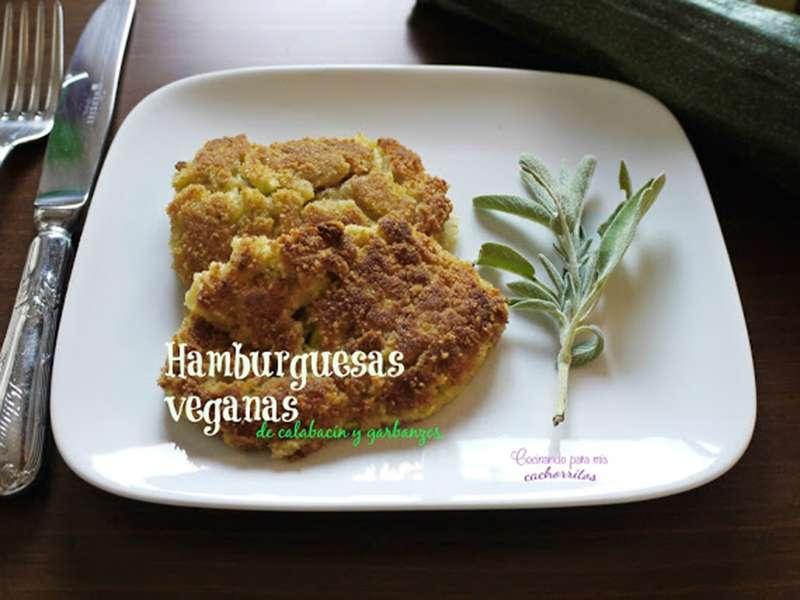 ##Hamburguesas calabacin y garbanzos recetas con legumbres