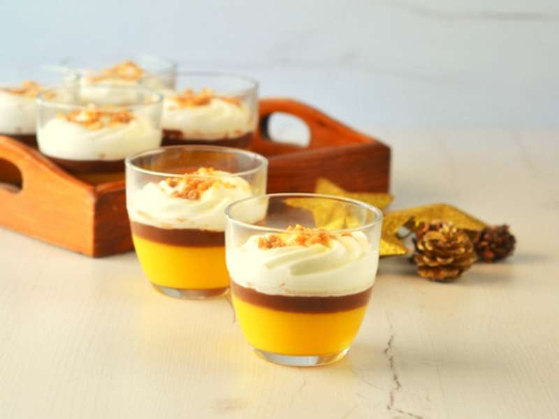 Vasitos de naranja