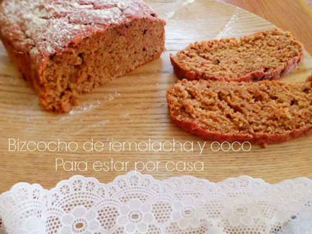 ##Bizcocho de remolacha y coco (12 delicias sin lactosa)