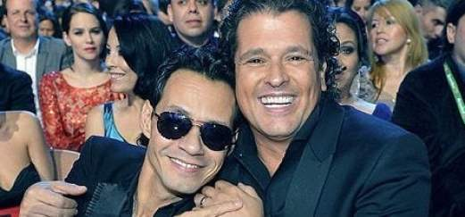 Marc Anthony y Carlos Vive