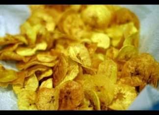 Chicharritas de Plátanos