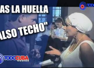 "SERIE CUBANA TRAS LA HUELLA CASO ""FALSO TECHO"""