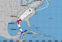 TORMENTA TROPICAL NATE