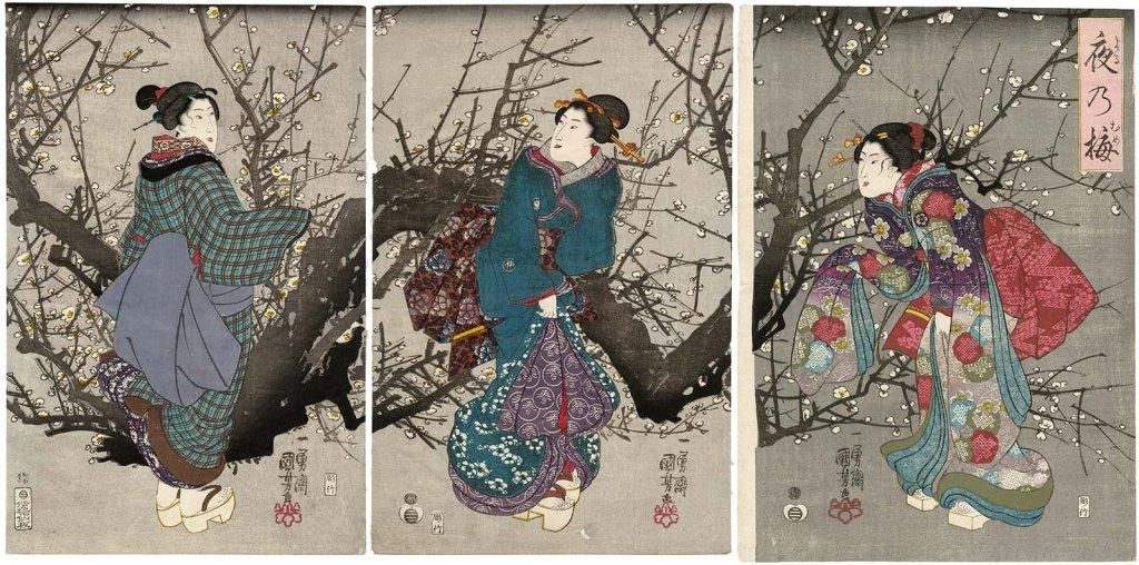 Flor de Ume anuncia a primavera no Japão 3