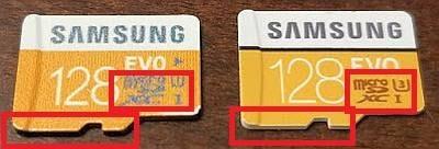 micro sd Samsung real o falsa