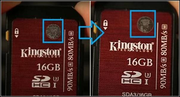 test micro sd Kingston falsa