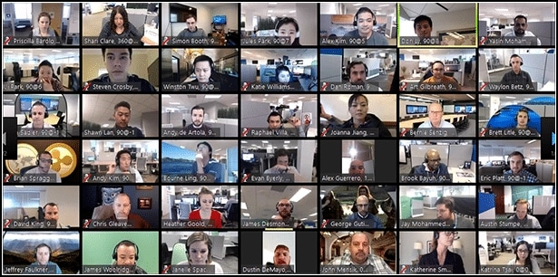 49 participantes Zoom