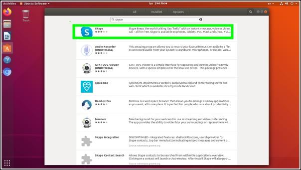 buscar Skype Ubuntu