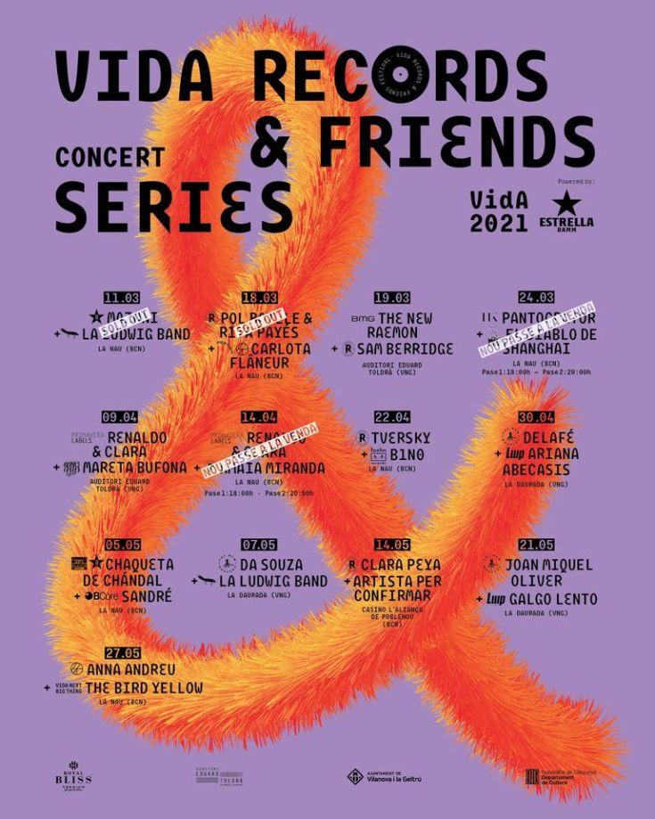 Se amplía el cartel del  Vida Records & Friends
