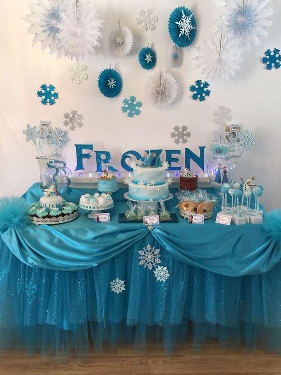 Diy Homemade Disney Frozen Birthday