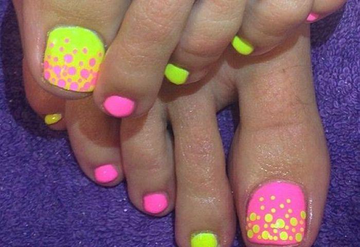 Decoración De Uñas Para Pies Los Mejores Diseños De Art Nail Foot