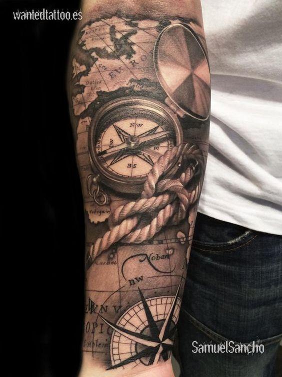 50 Imágenes De Tatuajes Para Hombres De Brazos Muñecas Y Hombros