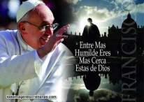 Imágenes cristianas con frases del Papa