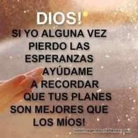 Imágenes con mensajes para Dios