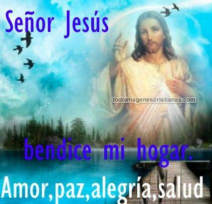 imagenes cristianas de bendición de jesús
