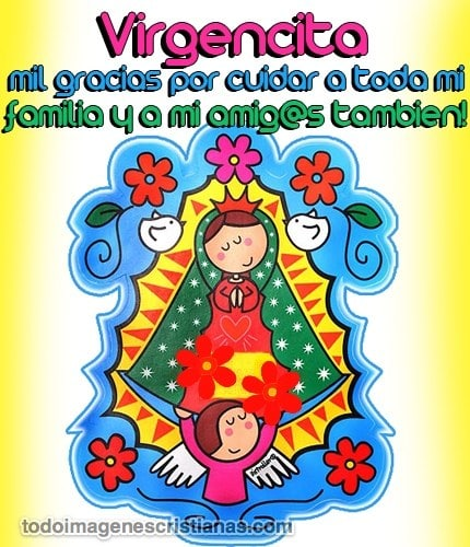 imagenes cristianas de la vrgencita de guadalupe