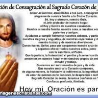 Imágenes Cristianas de Oración al Sagrado Corazón de Jesús